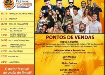 Guarapari Verão 2017 – SHOWS!